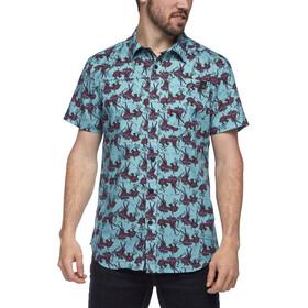 Black Diamond Solution Koszula z krótkim rękawem Mężczyźni, niebieski